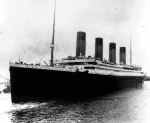 The Titanic sets sale on her first and final voyage.